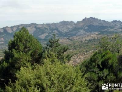 Cabeza de Braña, Mondalindo y Peña Negra - Senderismo por Madrid;pueblos con encanto pueblos de ma